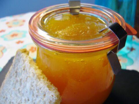 Pompelmoesconfituur met mango