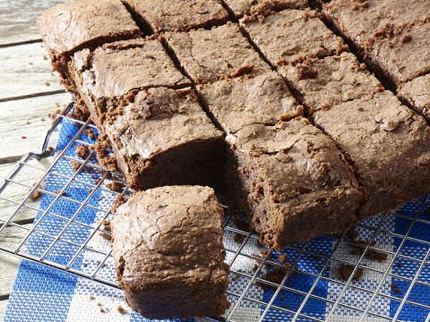 Brownies met melkconfituur