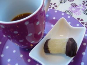 Marsepein-marmelade bonbon