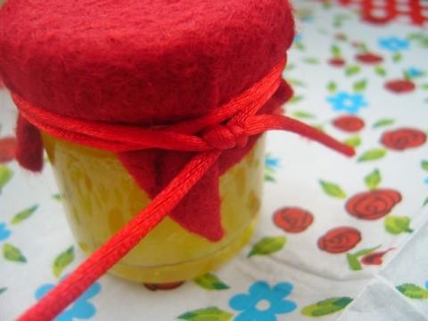 Rabarberconfituur met rozemarijn