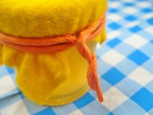Sinaasappelgelei met citroentijm