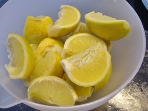 Bergamot citroenen voor bergamot marmelade