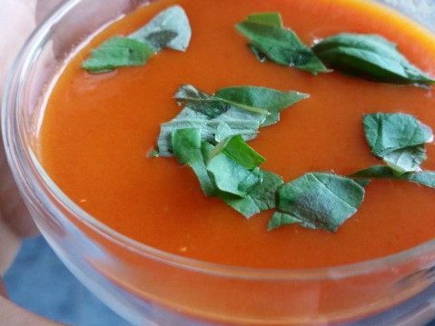 paprika-tomatensoep